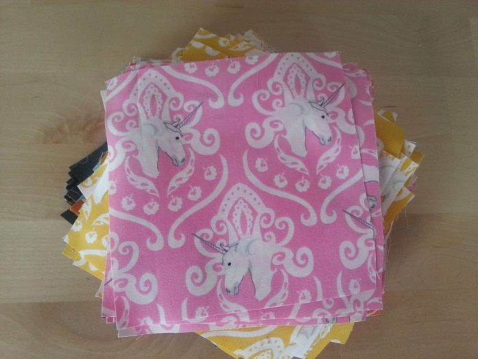 fantasia unicorn fabric