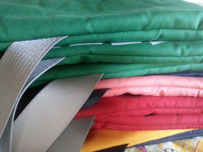 growler bags in progress