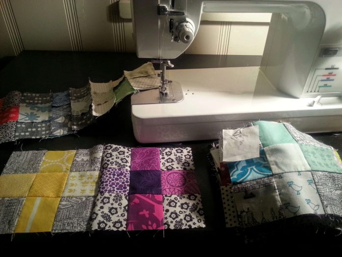 piecing charming plus scrappy quilt