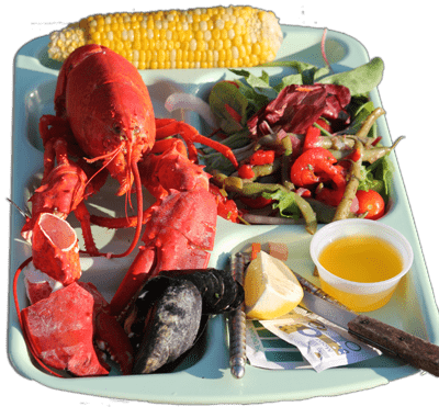 Lobster Bake at Quimby Country