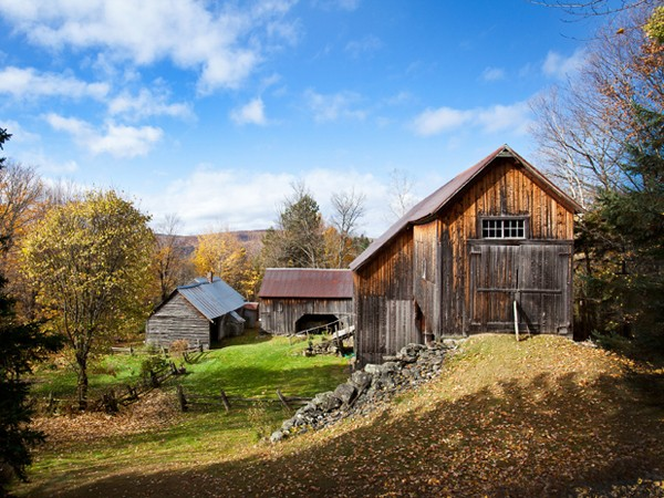 Poore Farm Homestead near Quimby Country in Vermont