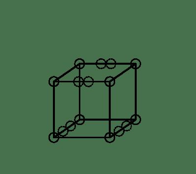 Propuesta para un triple enlace de según el modelo atómico de Lewis