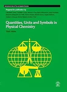 IUPAC green book