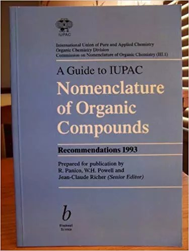 Blue book IUPAC