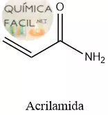 Estructura de la acrilamida