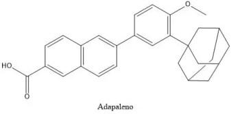 Estructura del adapaleno