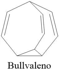 Estructura del bullvaleno
