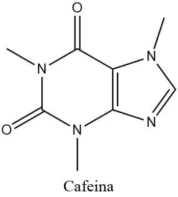 Estructura de la cafeína
