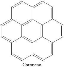 Estructura del coroneno