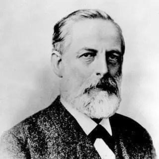 Retrato de Julius Lothar Meyer