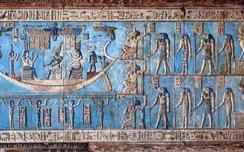 El pigmento azul egipcio fue usado por primera vez por un artista en el año 2600 a.C.