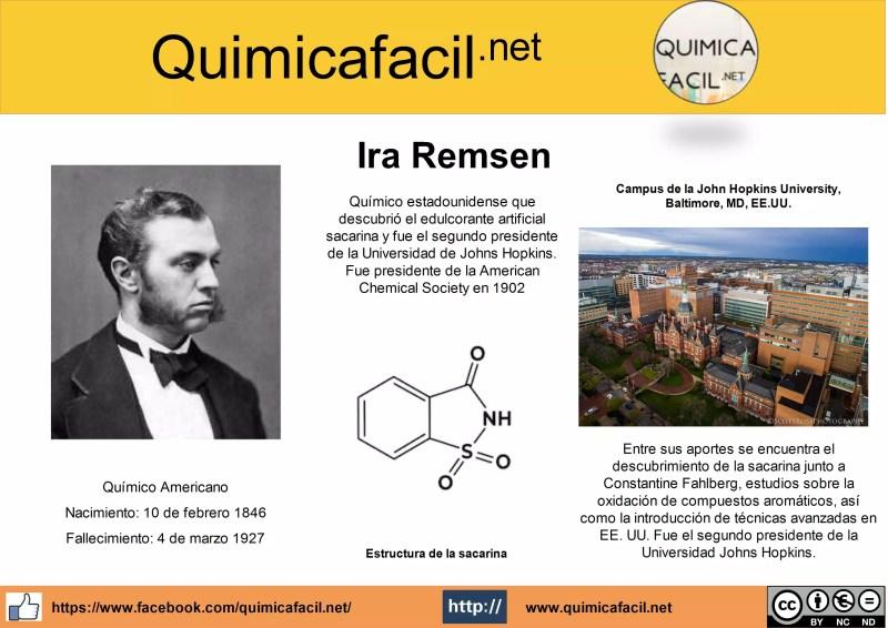 Infografia Ira Remsen
