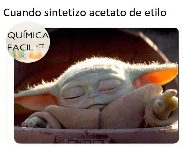 El olor de los esteres y solventes son cautivadores. Para más humor químico y científico visítanos en https://quimicafacil.net/category/humor/ #humorquímico #chemjoke #humor #memes #memescientificos
