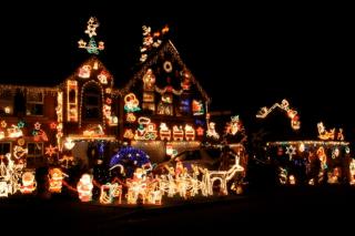 Las luces de navidad están llenas de química y ciencia