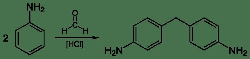 Síntesis de metilendianilina