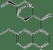Estructura 2D de la quinina
