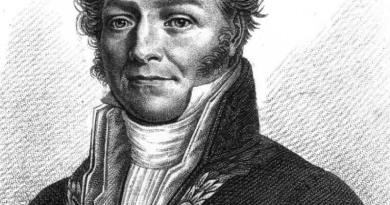 Retrato de Louis Jacques Thénard