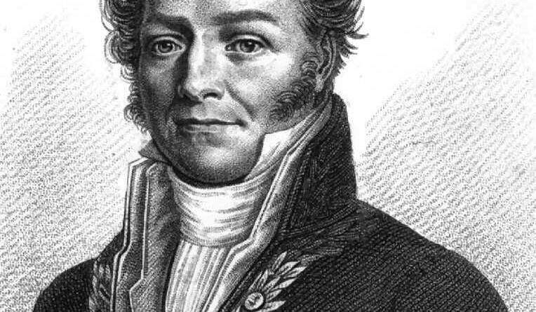 Retrato de Louis Jacques Thénard