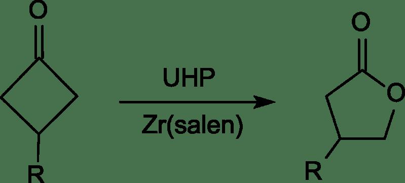 Oxidación de Baeyer-Villiger con UHP