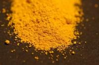 Sulfuro de cadmio, utilizado en arte como pigmento amarillo