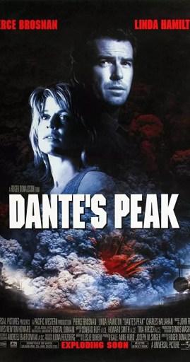 Poster teatral de Dante's Peak