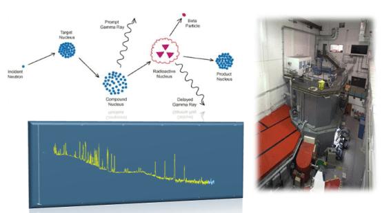 Principio, espectro característico y equipo de análisis NAA