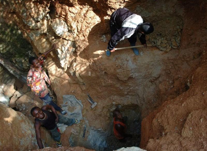 Mina de tantalio en el Congo (via mining-technology.com)