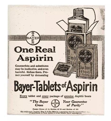 Publicidad de aspirina