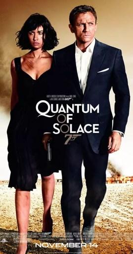 Cartel promocional de Quantum of solace