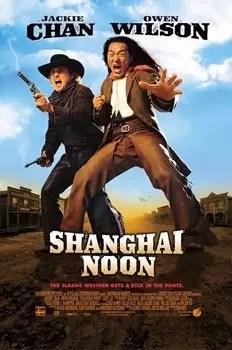 Cartel del estreno en cines de Shanghai noon