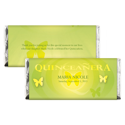 Quinceanera Candy Wrappers