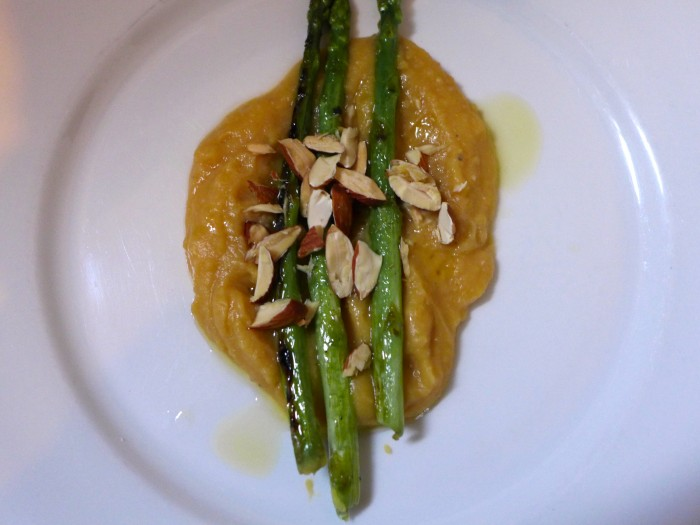 truffled fava puree