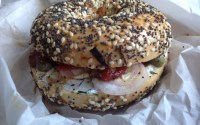 the mensch bagel from smith & deli