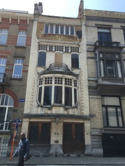 Brussels art nouveau walk