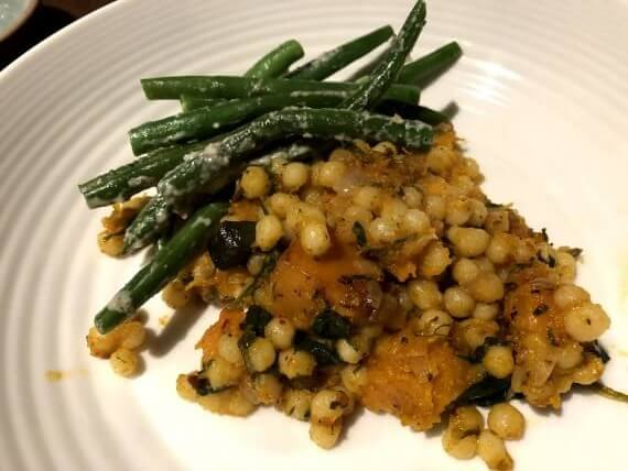beans and pumpkin couscous