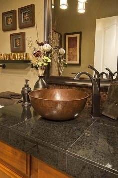 Metal Vessel Sink - Bathroom Vanity - quinju.com