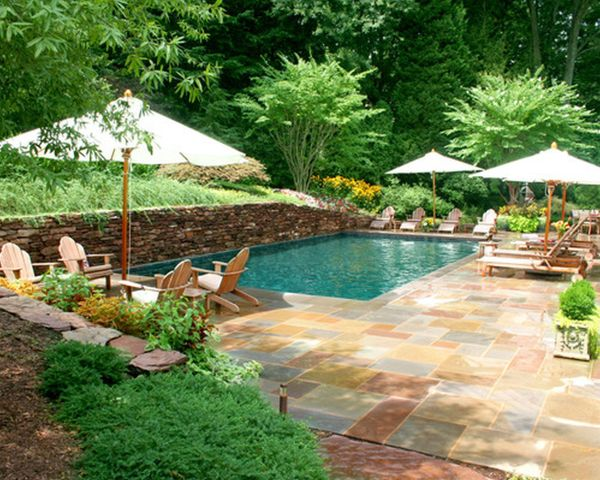 outdoor pool and patio design ideas Designing Your Backyard Swimming Pool: Part I of II