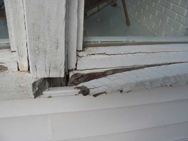 Damaged Window - Old Windows - Replacement Windows - quin ju.com