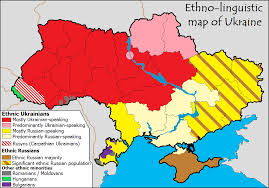 Linguistic Map of Ukraine