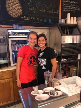 Weekend Crew at Quinns Cafe Diner Delaware