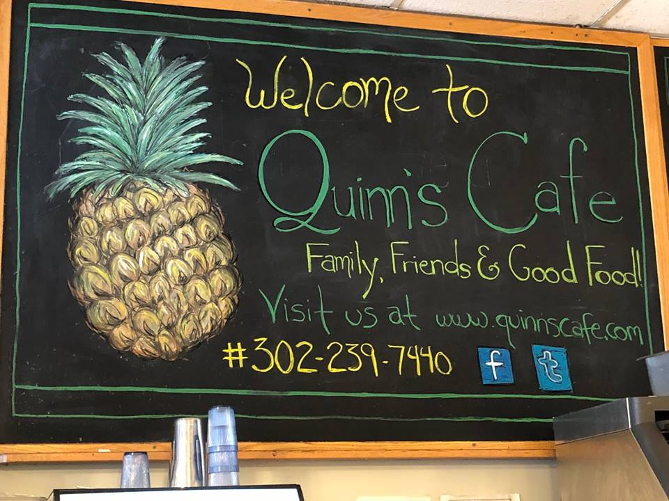 Quinns Cafe Chalk Art by Kellie Cox 2018