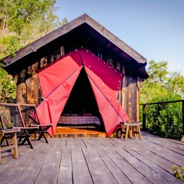 Romantic Mountain Shelter