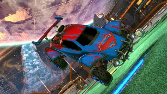 Carro Superman Rocket League