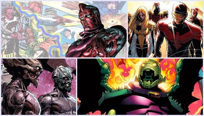 Universo Marvel | 10 vilões cósmicos para a fase 4 da produtora no Cinema