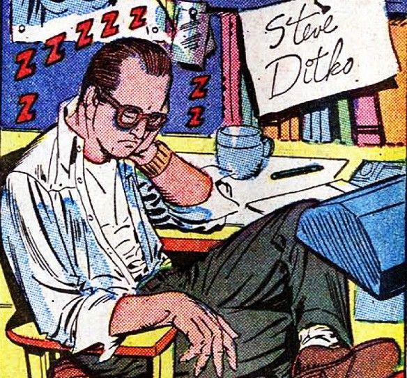 Steve Ditko | Três Criações Que Tornaram Watchmen Possível