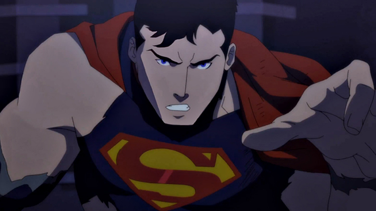 A Morte do Superman, animação emociona