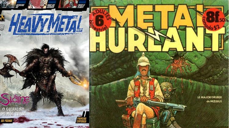 "Heavy Metal da Mythos - Editor fala sobre a ""polêmica"" do título"