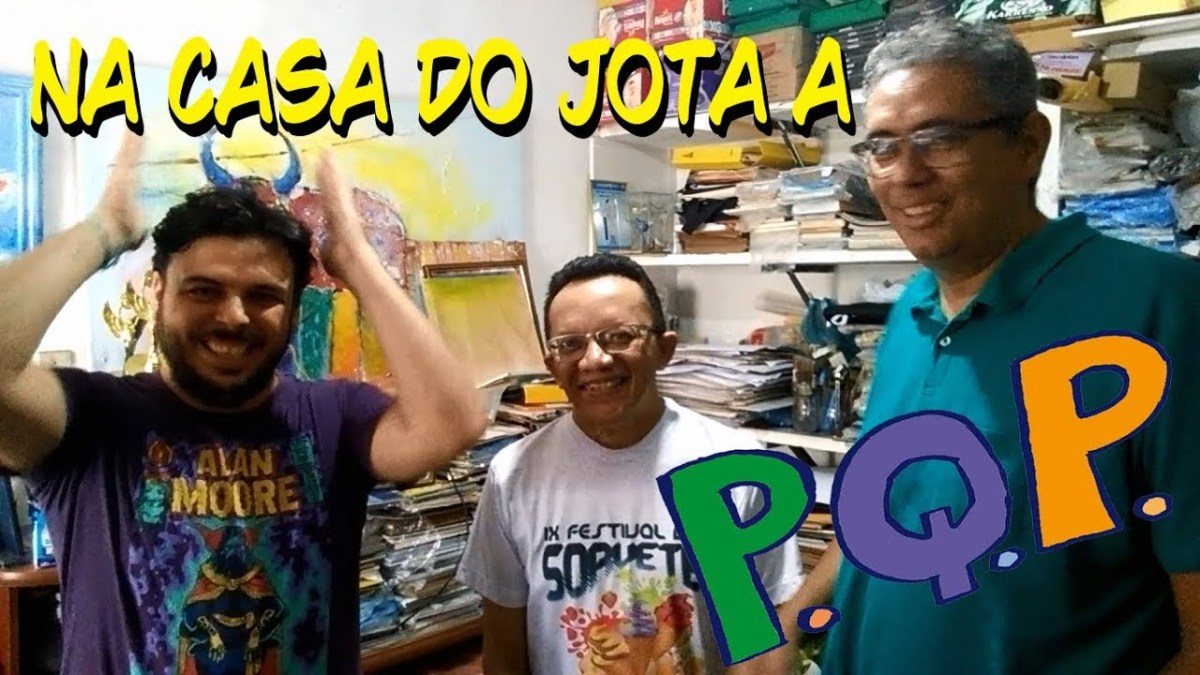 Jota A - Conheça a casa do cartunista mais premiado do Brasil