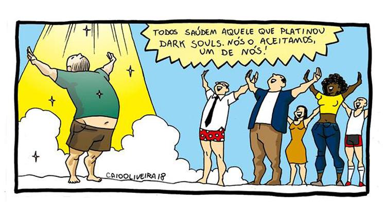 Platinei Dark Souls