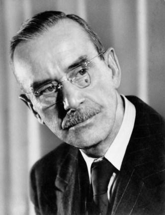 O alemão Thomas Mann, considerado um dos maiores autores do século XX.